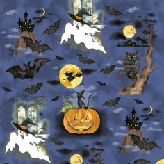 Fright Night, 33657-X, Windham Fabrics