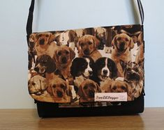 Walking our dogs in style! Dog Walking, Cross Body, Etsy Shop, Tote Bag, Trending Outfits, Unique Jewelry, Handmade Gifts, Dogs, Vintage