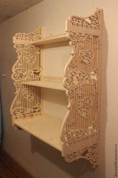 """Мебель ручной работы. Ярмарка Мастеров - ручная работа Полка """"Сердце клевера"""". Handmade."""