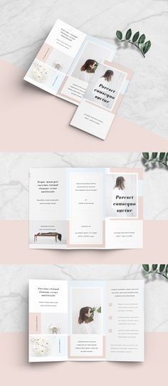 Buy this stock template and explore similar templates at Adobe Stock - Brochures / Look Books - minimalist brochure layout - Leaflet Layout, Booklet Layout, Leaflet Design, Flyer Layout, Resume Layout, Brosure Design, Layout Design, Brochure Indesign, Template Brochure