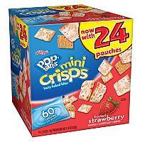 Post Pop Tarts Mini Crisp - Strawberry - 11.8 oz. - 24 pk. - Sam's Club