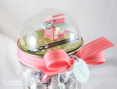 Enjoy Candy Jar Topper by Laurie Willison for Papertrey Ink (March 2015)