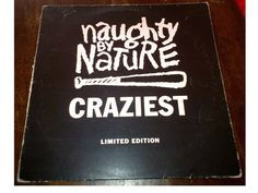 "#NaughtyByNature ‎– Craziest 12"" #Vinyl #hiphop"