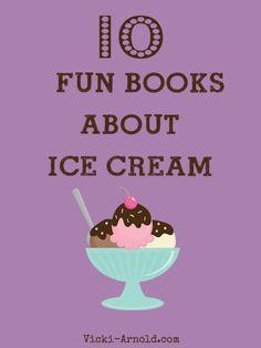 10 Fun Books About Ice Cream + 2 Bonus Books