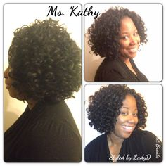 Crochet braids - Hair:  Freetress  Gogo Curl Natural hair protective style  Metro Detroit Area / Stylist : LadyD