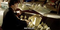This just happened when I was sherlocked