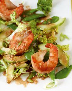 Rezept für Garnelensalat bei Essen und Trinken. Ein Rezept für 2 Personen. Und weitere Rezepte in den Kategorien Gemüse, Gewürze, Meeresfrüchte, Schalen- und Krustentiere, Hauptspeise, Salate, Blanchieren, Braten, Kochen, Asiatisch, Einfach, Schnell, Hülsenfrüchte.