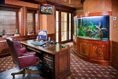 1200g fish tank in man room - Created by the ATM guys on Tanked, the ...