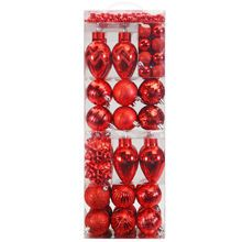 74ct Red Christmas Ornament Set By Celebrate It™
