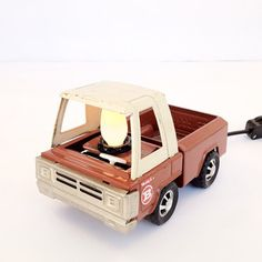 Toy Truck Night Light Brown now featured on Fab.