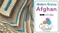 Crochet Modern Granny Afghan PatternCrochet Modern Granny Afghan Pattern I love the simplicity of a granny square, but decided to