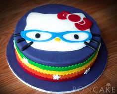 Hello Kitty Cake - Torta de Hello Kitty