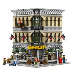 2017 LEPIN 15005 Grand Emporium + 15010 Parisian Restaurant City Street Model Building Blocks Brick Toy Clone 10243 10211 : SHOP
