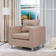 Gold Sparrow Detroit Arm Chair in Camel - ADC-DET-CHA-NDX-CAM