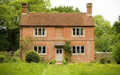 English brick cottage