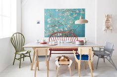 Dutch dining room | Photographer: Jansje Klazinga Styling: Frans Uyterlinde…
