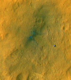 Mars Rover's New Color Pics