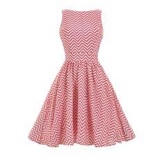 Lady V London Candy Pink Tea Retro šaty ve stylu 50. let. Nádherné šaty vhodné do tanečních kurzů, na večírky, párty či jen tak pro radost na krásné slunečné dny. Příjemná a decentní barva v asymetrickém vzoru, kombinace růžové, bílé a černé. Příjemný materiál (65% polyester, 35% bavlna), spodnička v bavlněném provedení - šaty nejsou pružné, doporučujeme tedy dobře měřit a v případě váhání mezi dvěma velikostmi se přiklonit k té větší.