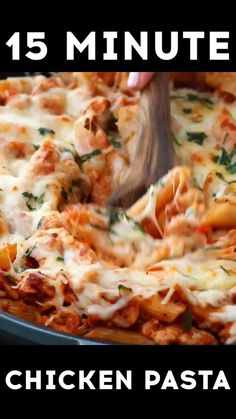 Restaurant Dishes, 15 Minute Meals, Cooking Recipes, Healthy Recipes, Chicken Pasta, How To Cook Pasta, Weeknight Meals, Tomato Sauce, Food Videos