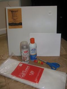 How to put any picture on canvas using your inkjet printer and tissue paper!