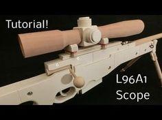 Tutorial! L96A1 Scope [rubber band gun] - YouTube http://riflescopescenter.com/category/bsa-riflescope-reviews/