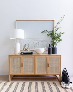 Christine Andrew's Entry Way Design – Studio McGee – jute Rugs living room Entryway Console, Entryway Decor, Bedroom Decor, Console Table, 70s Bedroom, Apartment Entryway, Queen Bedroom, Entryway Furniture, Entryway Ideas