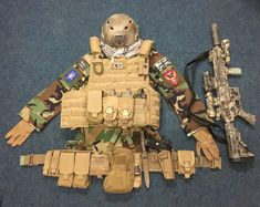 My attempt at us marine MARSOC loadout with a UK twist IR union flag !