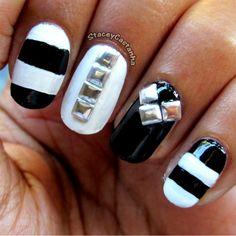 Demi Lovato X-Factor Nails