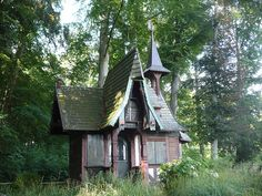 a typically witch's cottage above of the town garde   Flickr - Photo Sharing!