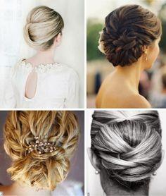 Elegant hairdos. www.fashionismo.com.br
