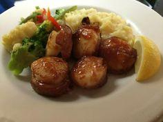 Blue Seafood and Spirits Virginia Beach Restaurants, Trip Advisor, Seafood, Menu, Yummy Food, Cooking, Ethnic Recipes, Blue, Number