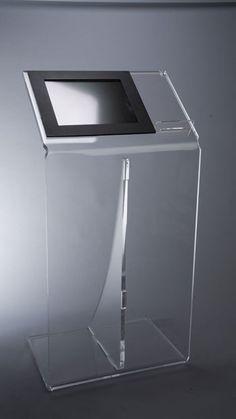 Plexiglass multimedia bookstand