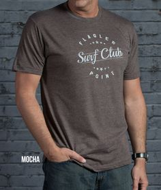 Super Soft 65% Polyester 35% Cotton, Lightweight, Athletic Cut, Vintage Graphic T. Fits True To Size. In 5 Vintage Colors.