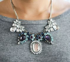 Image result for bib necklace street style
