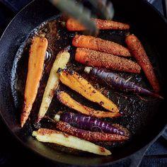 Get Food & Wine's blackened carrot recipe from star chef Alex Guarnaschelli.