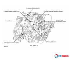 21 Best    Engine       Diagram    images   Used    engines     Ford explorer  Toyota camry