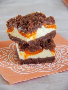 Schoko-Marillen Cheesecake mit Streuseln oder Marillenkuchen mal anders