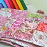 Scrap Color Baby Quilt Tutorial | Gingercake