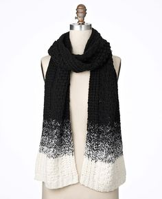 Ann Taylor - AT Sale Accessories - Ombre Chunky Scarf