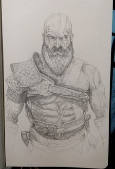Kratos from the upcoming God of War.