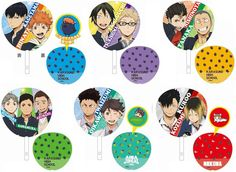 Haikyū !! Big fan will be released all six in July 2015 [Tomy Arts] http://blog.livedoor.jp/girlshobby/archives/44890801.html … #hq_anime #haikyuu