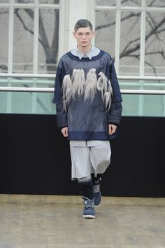 SHAUN SAMSON  Shaun Samson is a London-based designer and an MA graduate from Central Saint Martins. Designing modern men's streetwear, Samson engages with the rich and diverse subculture of London, and is part of a fresh talented group of emerging designers from British schools.  http://www.shaunsamson.co.uk  a/w 2011-12