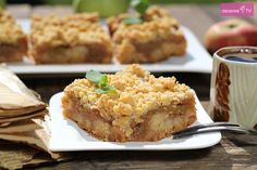 Szarlotka przepis z kruszonką Food, Essen, Meals, Yemek, Eten
