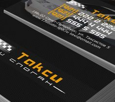 Business Card Template taxi