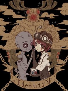 V Chibi, Identity Art, Cute Art, Anime Guys, Amazing Art, Creepy, Anime Art, Horror, Pokemon