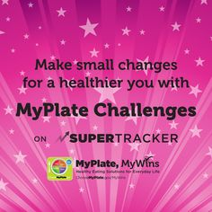 Have you tried #SuperTracker challenges? Jump-start healthy habits through friendly competition among family, friends, or coworkers. #nutrition #educators #worksitewellness