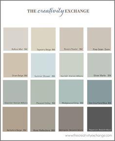Inspiring Benjamin Moore Revere Pewter For Modern Home Design Idea: The Most Popular Paint Colors With Benjamin Moore Revere Pewter For Modern Home Wall Painting Revere Pewter, Paint Schemes, Colour Schemes, Color Trends, Wall Colors, House Colors, Paint Colours, Country Paint Colors, Grant Beige