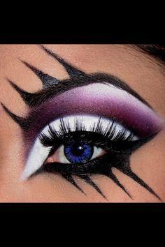 rockstar makeup on Pinterest   Crazy Makeup, Eye Makeup and Scary ...