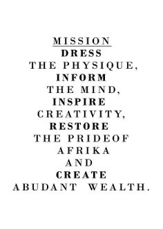 We achieve our vision through these means..