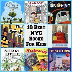 A fun list of the best childrens' books set in New York City. Did your favourite make our list? kid books